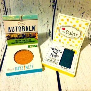 2 The Balm AutoBalm & what's the tea Eyeshadow